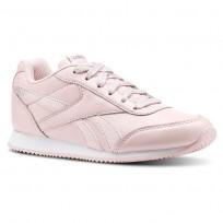 Reebok Royal Classic Jogger Shoes Girls Pink/White CN4772