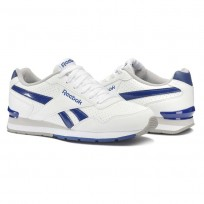 Shoes Reebok Royal Glide Mens White/Royal/Dark Grey AQ9166