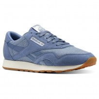 Reebok Classic Nylon Shoes Mens Blue CN3345