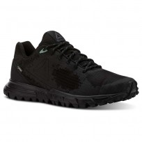 Reebok Sawcut Walking Shoes Womens Black/Grey/Green CN5019