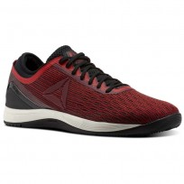 Reebok Crossfit Nano Shoes Mens Red/Burgundy/Black CM9169