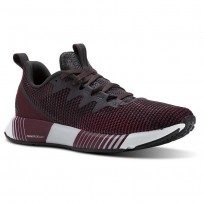 Reebok Fusion Flexweave Running Shoes Womens Deep Red CN2857