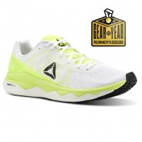 Reebok Floatride Run Running Shoes Womens Yellow/White/Black CN4672