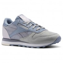 Reebok Classic Leather Schuhe Damen Grau CN0360