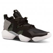 Reebok 3d Op. Shoes Mens Black/Green/Grey/White CN3911