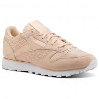 Zapatillas Reebok Classic Leather Mujer Rosas/Blancas BT0004