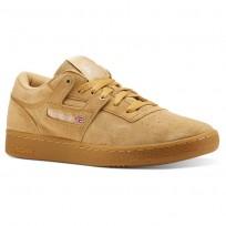 Reebok Club Workout Shoes Mens Beige CN3863