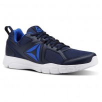 Training Shoes Reebok 3d Fusion Tr Mens Navy/White/Blue CN4856