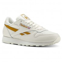 Reebok Classic Leather Shoes Mens Khaki CN3923