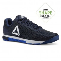 Reebok Speed Training Shoes Mens Blue CN5503