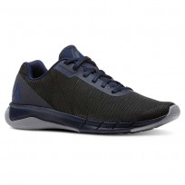 Reebok Flexweave Run Running Shoes Mens Navy/Grey/Blue CN5143