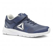 Reebok Rush Runner Running Shoes Kids Blue/Grey/White CN7246