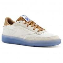 Reebok Club C 85 Schuhe Damen Braun/Blau CN3260