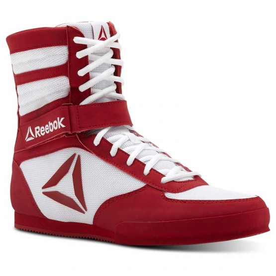 Reebok Boxing Tactical Shoes Mens White/Red CN4739