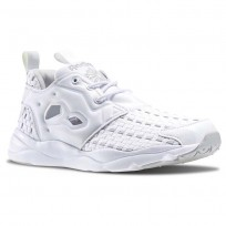 Zapatillas Reebok Furylite New Woven Mujer Blancas/Gris V70797