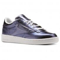 Shoes Reebok Club C 85 Womens Royal Dark Blue/White CM8687