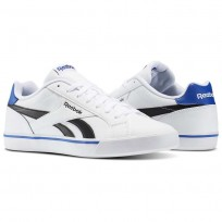 Reebok Royal Complete Shoes Mens White/Black/Royal AR2428