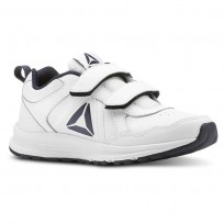 Reebok Almotio 4.0 Running Shoes Kids White/Navy CN4220