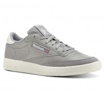 Reebok Club C 85 Shoes Mens Grey CN3438