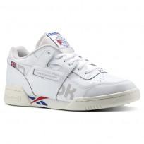 Shoes Reebok Workout Plus Mens Royal Red/White DV4632