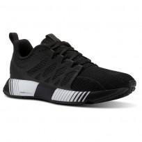 Reebok Fusion Flexweave Cage Running Shoes Womens Black/White CN2885