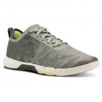 Reebok Speed Training Shoes Womens Green/Lemon CN4861