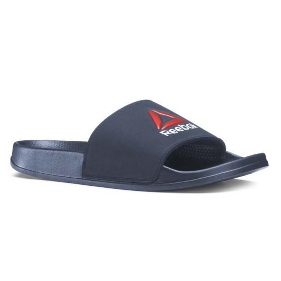 Reebok Original Slide Slippers Mens Navy/Red/White CN7085