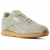 Reebok Classic Leather Shoes Kids Grey CN5170