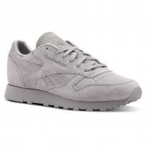 Reebok Classic Leather Schuhe Damen Grau CN4026