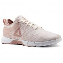 Deportivas Reebok Speed Mujer Rosas/Blancas/Plateadas CN0993