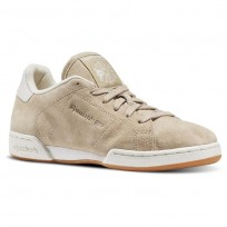 Reebok Npc Ii Shoes Womens Beige/White BD1587