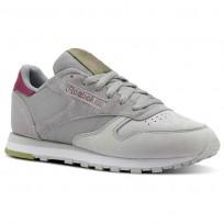 Reebok Classic Leather Schuhe Damen Grau CN4025