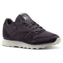Reebok Classic Leather Shoes Womens Purple/White CM9799