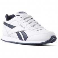 Reebok Royal Classic Jogger Shoes Kids White/Navy CN4930
