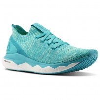 Lifestyle Shoes Reebok Floatride Rs Ultk Womens Blue/Turquoise/White CM8754