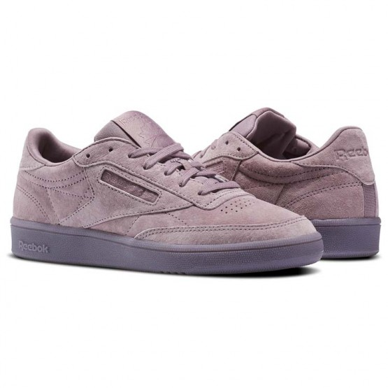 Reebok Club C 85 Shoes Womens Purple/White BS6529