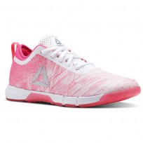 Training Shoes Reebok Speed Womens Pink/White/Silver CN2246