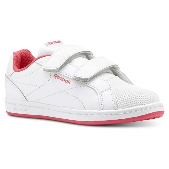 Reebok Royal Comp Schuhe Mädchen Weiß/Rosa CN4831