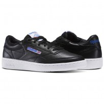 Reebok Club C 85 Shoes Mens Black/White/Blue/Red BS5213