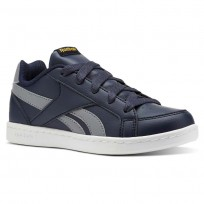 Reebok Royal Prime Shoes Boys Navy/Grey/Gold CN4762