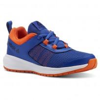 Reebok Road Supreme Running Shoes Boys Royal/Light Orange/White CN4195