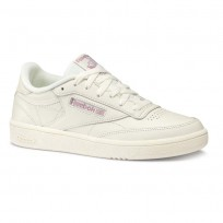 Reebok Club C 85 Shoes Womens Beige DV4890