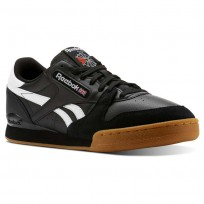 Reebok Phase 1 Pro Shoes Mens Black/White/Red CN3400