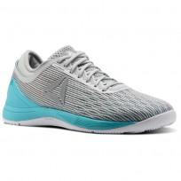 Reebok Crossfit Nano Schuhe Damen Grau/Weiß/Grau/Weiß CN1042