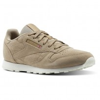 Reebok Classic Leather Shoes Kids Beige CN0000