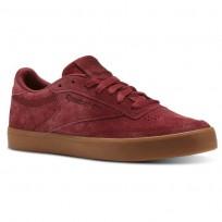 Shoes Reebok Club C 85 Womens Burgundy CN2273