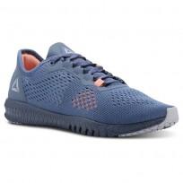 Reebok Flexagon Training Shoes Womens Blue/Grey/Pink CN2604