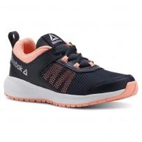 Running Shoes Reebok Road Supreme Girls Navy/Pink/Silver CN4198