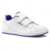 Reebok Royal Comp Schuhe Kinder Weiß/Königsblau CN4833
