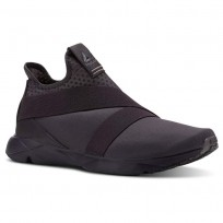 Reebok Supreme Strap Running Shoes Mens Grey CN4929